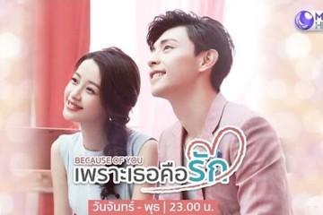 ซีรี่ย์จีน Because of You เพราะเธอคือรัก พากย์ไทย Ep.1-35