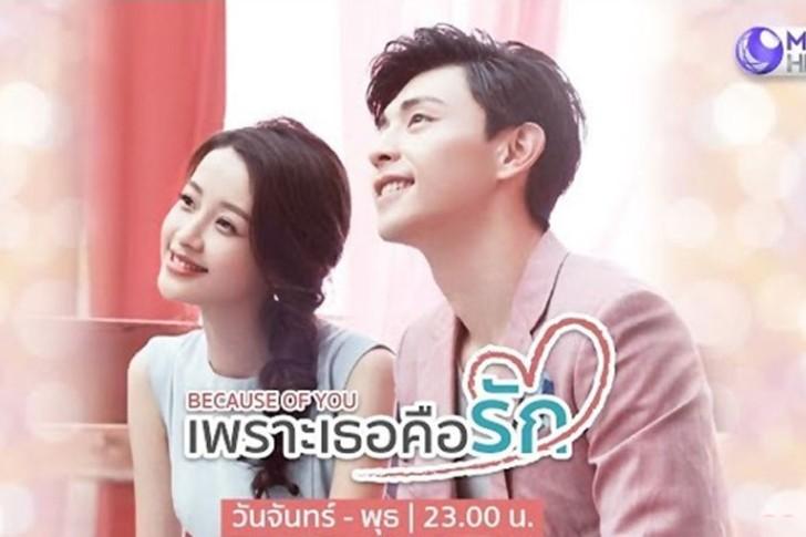ซีรี่ย์จีน Because of You เพราะเธอคือรัก พากย์ไทย Ep.1-53